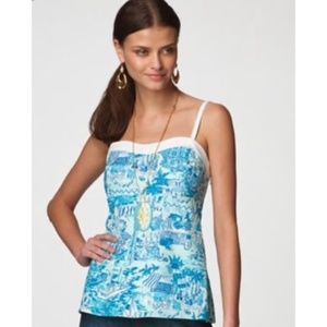 Lilly Pulitzer Fresh Catch Camisole S
